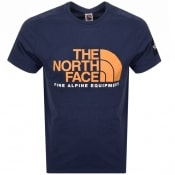 Product Image for The North Face Fine T Shirt Navy